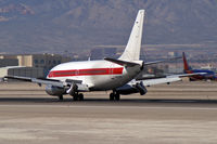 N5176Y @ KLAS - EG & G - Department of Air Force - Layton, Utah / 1974 Boeing 737-200 / J.A.N.E.T Airlines - by Brad Campbell