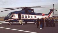 G-OIOI @ EGLF - EH Industries EH101 Heliliner Prototype at Farnborough International 1990