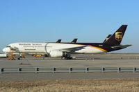 N456UP @ DFW - UPS 757 at DFW - by Zane Adams
