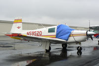 N5952Q @ GKY - At Arlington Municipal Parked in known icing conditions...hehe