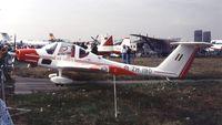 ZH190 @ EGLF - Grob G.109B Vigilant T.1 at Farnborough International 1990