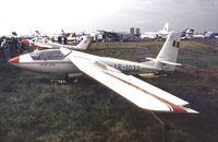 YR-1033 @ EGLF - IAR IS-35 Acro at Farnborough International 1990
