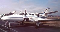 F-GKRA @ EGLF - Cessna/Reims F.406 at Farnborough International 1990