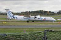G-JECU @ EGCC - Taken at Manchester Airport, October 2008 - by Steve Staunton