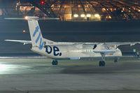 G-JECU @ SZG - Fly BE - British European DeHavilland Canada Dash 8-400 - by Thomas Ramgraber-VAP
