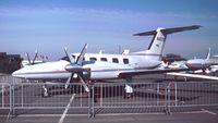 N4119X @ EDDV - Piper PA-42-1000 Cheyenne 400 at the Internationale Luftfahrtaustellung ILA, Hannover 1988