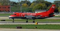 N427XJ @ KMSP - Landing 22 at MSP