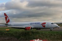 OK-DGN @ EGCC - Taken at Manchester Airport, October 2008 - by Steve Staunton
