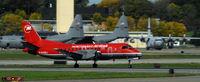 N443XJ @ KMSP - Departing MSP on 12L