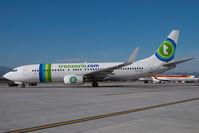 PH-HZD @ AGP - Transavia Boeing 737-800