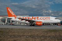 HB-JZO @ AGP - Easyjet Airbus A319