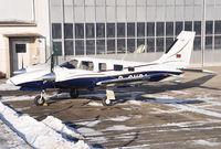 D-GVPA @ EDRZ - Piper PA-34-220T Seneca V - by Volker Hilpert