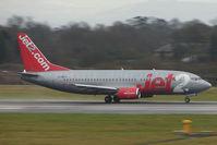 G-CELV @ EGCC - Jet 2 B737 departing Manchester UK