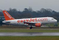 G-EZEU @ EGCC - Easyjet A319 at Manchester (UK)
