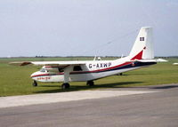 G-AXWP @ EGHC - ISLES OF SCILLY SKY BUS TAKEN BETWEEN 1988-1993 - by BIKE PILOT