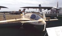 D-EGED @ EGLF - Gyroflug SC-01B-160 Speed Canard LASS (Light Aircraft Surveillance System) at Farnborough International 1990 - by Ingo Warnecke