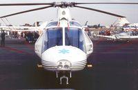 N1VQ @ EGLF - Agusta A.109MAX at Farnborough International 1990