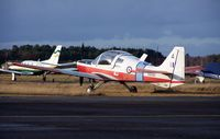G-CBBC @ EGLK - SA Bulldog T1 XX515 Ex RAF CFS Scampton - by moxy