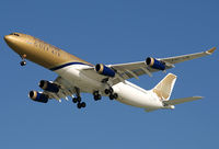 A9C-LB @ OBBI - GULF AIR A343 - by bucheeri