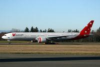 VH-VPD @ KPAE - KPAE (Boeing 967 departing a test flight)