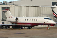 3B-SSD @ EGGW - Mauritius registered Challenger 300 at London Luton - by Terry Fletcher