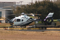 N517JS @ GPM - At American Eurocopter - Grand Prairie, TX - Terrible heat haze today! - by Zane Adams