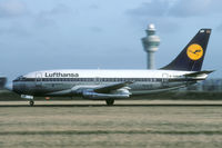 D-ABHP @ EHAM - one of the last Lufthansa 737-200s I saw. - by Joop de Groot