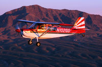 N102GD @ 5T6 - Taken near Franklin Mountain, El Paso Texas - by Susie Azar