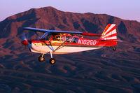N102GD @ 5T6 - Taken near Franklin Mountain, El Paso Texas - by Susie Azar