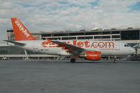 G-EZBO @ AGP - Easyjet Airbus 319