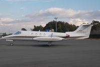 N606GB @ AGP - Learjet 25