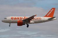 G-EZEJ @ AGP - Easyjet Airbus 319