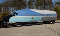 N679MG @ FME - 727 as Air Force One replica fuselage - by J.G. Handelman