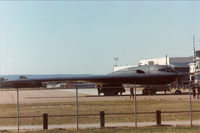 88-0328 - B-2 Spirit at LTV Dallas (former Dallas Naval Airstation) for employee appreciation party.