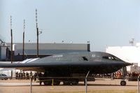 88-0328 - B-2 Spirit at LTV Dallas (former Dallas Naval Airstation) for employee appreciation party. - by Zane Adams
