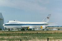 74-0787 @ CNW - USAF E-4B at Waco
