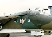 68-0244 @ NFW - FB-111 ose art at Carswell AFB