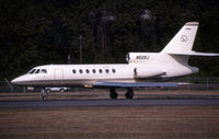 N50XJ @ KBFI - Seen here as N50SJ this airframe is currently registered N50XJ as posted