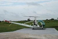 N103JA @ FA22 - Hiller UH-12 - by HR