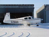 C-FNWG @ CJX5 - Winter Flying - by B Gordon