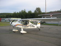 C-IFPM @ CYES - Edmundston Airport - summer - by Luc