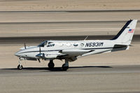 N5931M @ VGT - 1972 Cessna 340 - by Geoff Smith