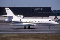 N5VJ @ KBFI - Seen here as N90EW this airframe is currently registered N5VJ as posted - by Nick Dean