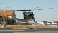 80-23473 @ ESN - UH-60A 80-23473 tail view of lift off at Easton MD - by J.G. Handelman