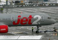 G-LSAG @ VIE - Jet2 Boeing 757-21B - by Joker767