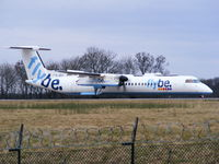 G-JECY @ EGCC - flybe - by Chris Hall
