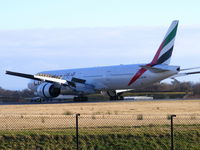 A6-EBT @ EGCC - Emirates - by chris hall