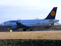 D-AILP @ EGCC - Lufthansa - by chris hall