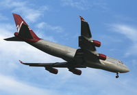 G-VROM @ MCO - Virgin Atlantic 747-400