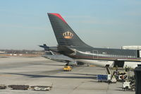 JY-AIC @ DTW - A birthday present, finally getting the Royal Jordanian A340-200 at DTW